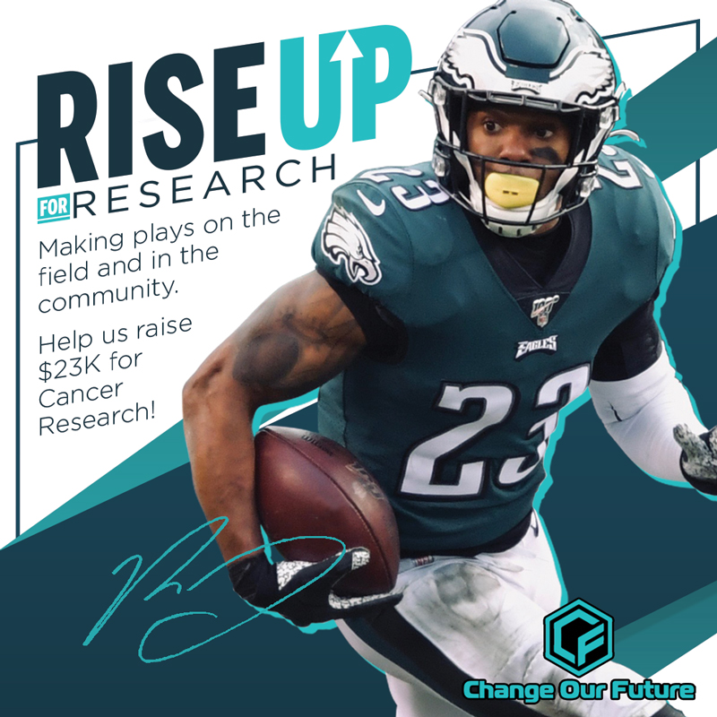 Rodney McCleod Jr. Rise Up for Research