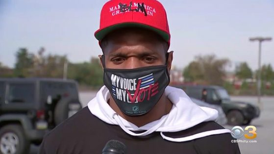Rodney McLeod and the Eagles Cheer on Fans on Election Day