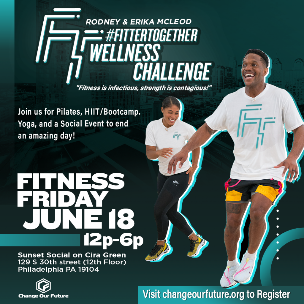 Fitter Together Fitness June 18 Friday Event Flier